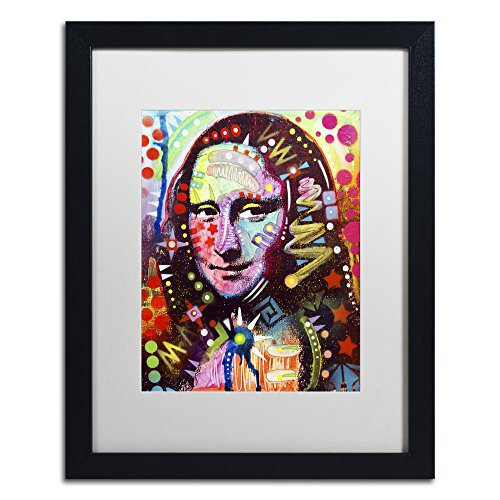 Mona Lisa by Dean Russo, White Matte, Black