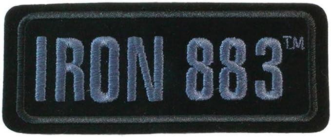 Harley-Davidson Embroidered Harley Script Emblem Patch SM 4 x 1.875 in EM286852