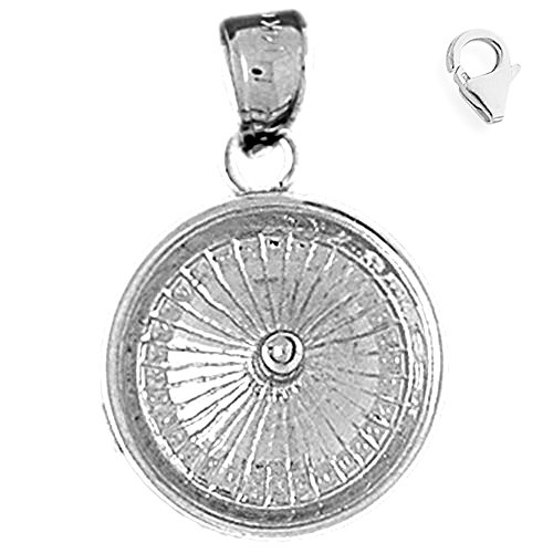 Sterling Silver 22mm Roulette 8.5