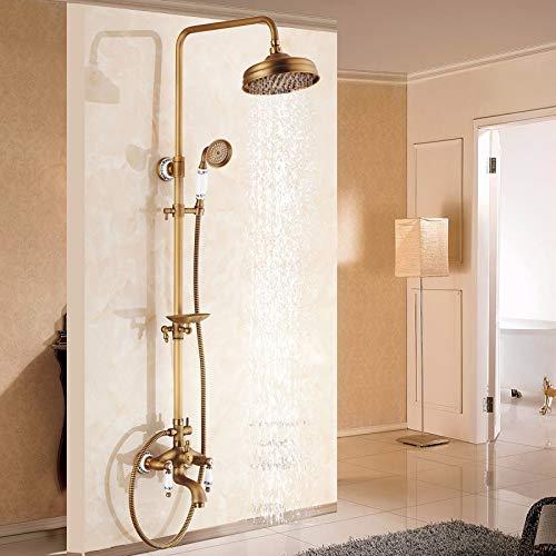 67 Antique Shower Hlluya Professional Sink Mixer Tap Kitchen Faucet Rain shower faucet bath 10 black