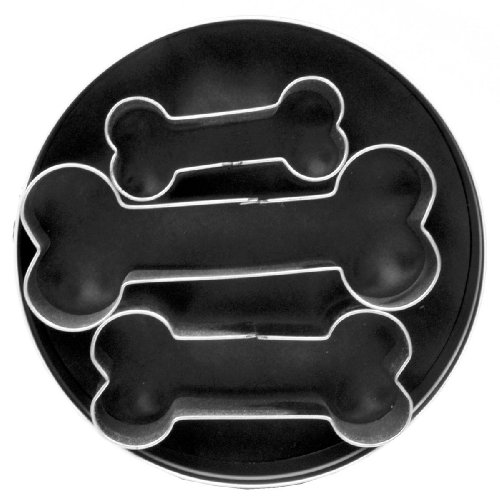 Fox Run Dog Bone Cookie Cutter (Fox Run Cookie Cutters)