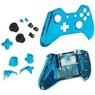 Game Bully Xbox One Controller Full Housing Shell - Chrome Blue