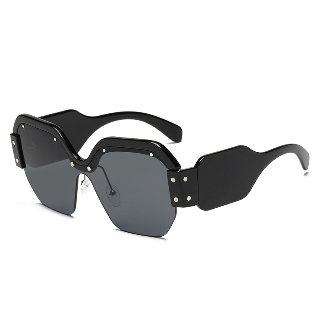 3e6f65b1bf Barato Horrenz cuadrado de la manera gafas de sol de las mujeres de gran  tama?o ...