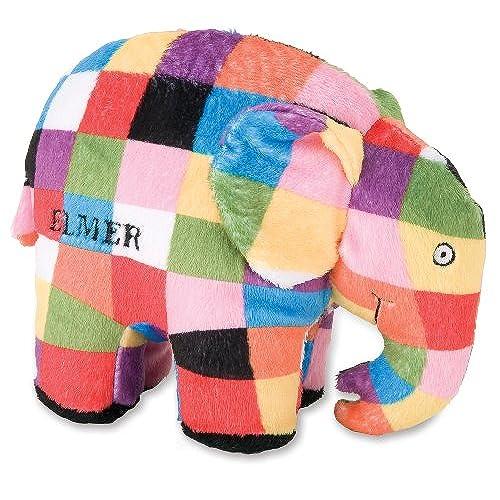 Elmer The Patchwork Elephant Bean Bag