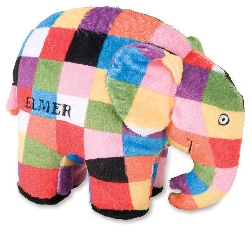 Elmer the Patchwork Elephant: Bean Bag by Kids Preferred, Baby & Kids Zone