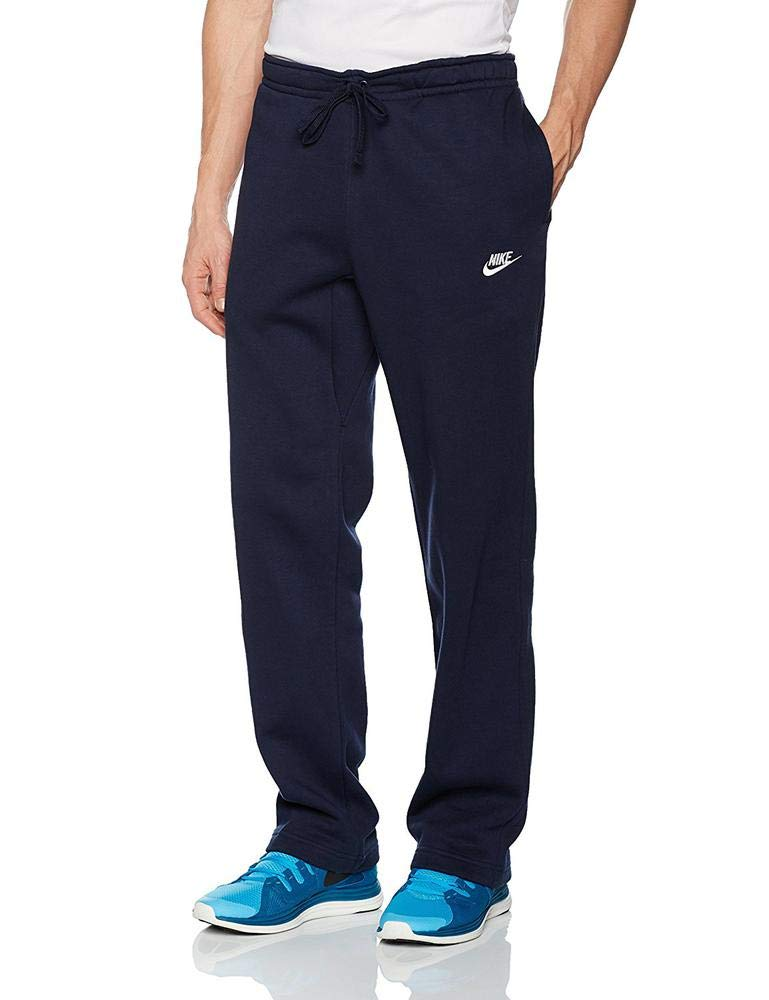 Men's Nike Sportswear Club Sweatpant, Fleece Sweatpants for Men with Pockets, Charcoal Heather/White, S by Nike (Image #7)