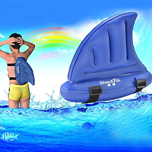 Qiyun swimming aids kids thick pvc shark fin swimming aids water training equipment for beginner for Can you get hiv from a swimming pool