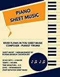 River Flows In You Staff Notation Sheet Music : Pianist Yiruma Songs On Piano Staff Notation Sheet Music