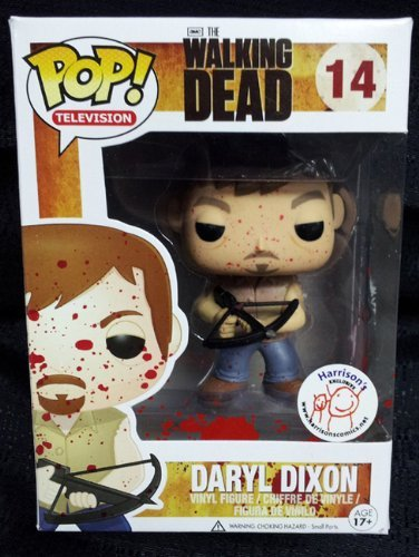 THE WALKING DEAD - Daryl Dixon (Blood Splattered Variant #14) FUNKO POP - Exclusive Limited Edition Figure