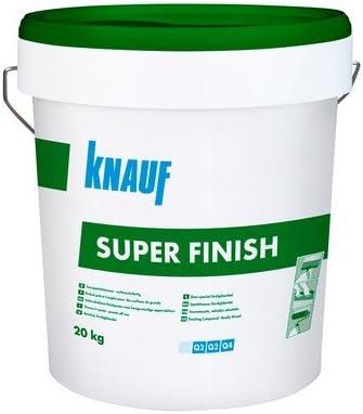 Stucco in pasta Super Finish 20kg. Art. 432690Knauf