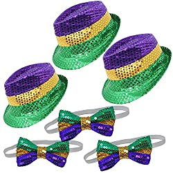 3 Pack Mardi Gras Accessory Set
