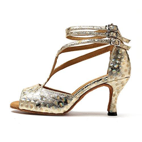 de 5cm Gold Minitoo bal Heel femme Salle 7 C1wBWx85
