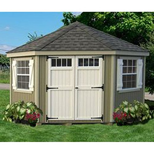 Little-Cottage-10-x-10-ft-5-Sided-Colonial-Panelized-Garden-Shed-with-Transom-Windows