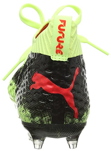 Puma Unisex Kinder Future 18.1 Netfit FG/AG Jr Fußballschuhe Gelb (Fizzy Yellow-Red Blast-Puma Black)
