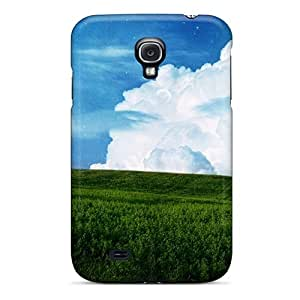 THd7968NboG Snap On Case Cover Skin For Galaxy S4(sky Field Planet Desktop Backgrounds)