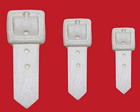 Amazon.com: Hebilla molde de silicona para Gumpaste zapatos ...