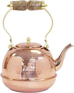 Uncommon James Home Copper Tea Kettle