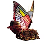 River of Goods 12557 8.75-Inch H Butterfly Accent Lamp