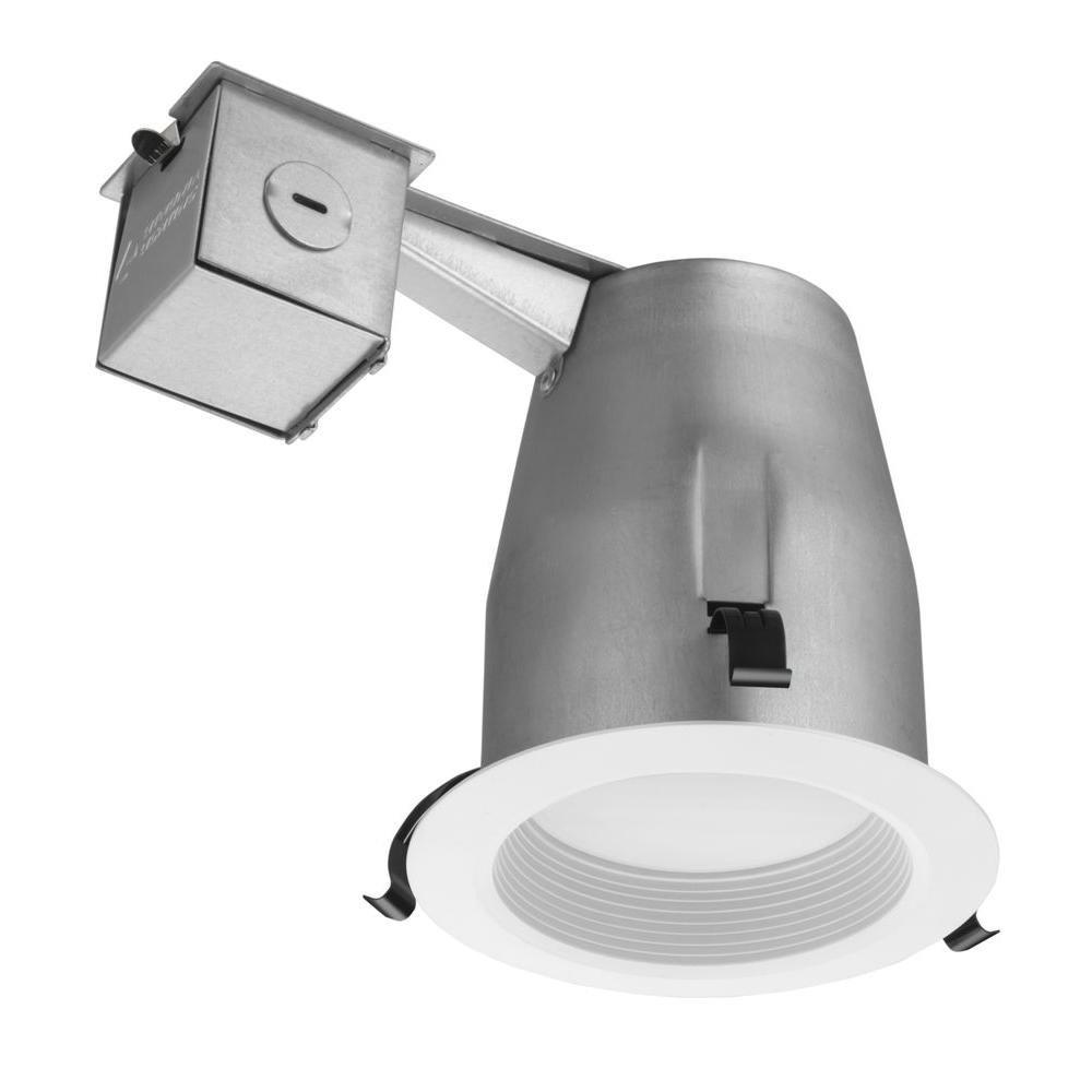 Lithonia Lighting LK4BMW LED 50K M4 Baffle Kit with Integrated Led, White, 4 inch
