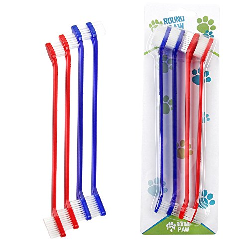Dog and cat toothbrush (4-Pack)