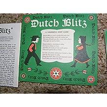 Vintage 1973 DUTCH BLITZ Card Game