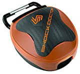 Shock Doctor Anti-Microbial Mouthguard Case      Look cool and keep your mouthguard safe and clean. Heavy-duty ventilated case with athletic bag attachment system provides secure, clean storage for your mouthguard.