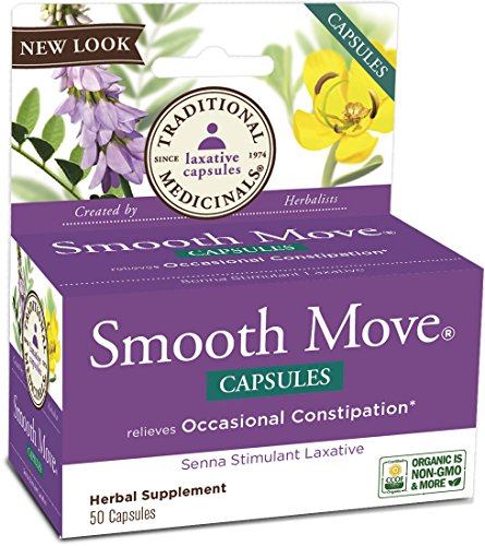 ls Smooth Move Senna Capsules, 50 Count (Cough Laxative)