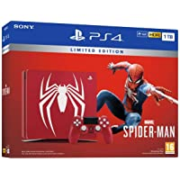 PS4 Slim 1 To F Marvel's Spider-Man Limited Edition + Marvel's Spider-Man - Standard + Edition