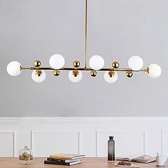 Perfekt Die Beleuchtung Lampe Kronleuchter Küche Wohnzimmer Esszimmer Unsichtbares  Feuer Glas Kronleuchter Hängelampe Restaurant Innenbeleuchtung