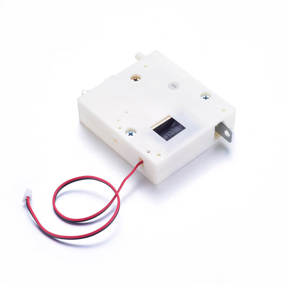 White 12V 2A Energy-Saving Electronic Lock Smart Electric Control Door Lock for Storage Cabinet Locks