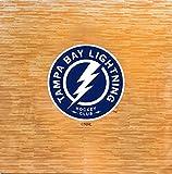 NHL Tampa Bay Lightning NHL 8-foot by 8-foot Fan Floor, Tan, 8-foot x 8-foot