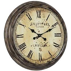 Cooper Classics Frye Clock