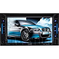 Jvc KWV11 Car DVD Receiver With Monitor & Am Fm Rds Tuner