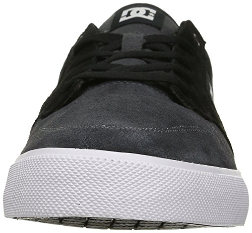 DC Men's Argosy Vulc Skate Shoe Black/Dark Grey/White gPcnJuyPV