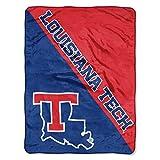 """Louisiana Tech Bulldogs """"Halftone"""" Micro Raschel"""