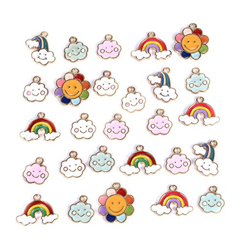 Halloween Cloud - OBSEDE Charms Cloud and Rainbow Craft