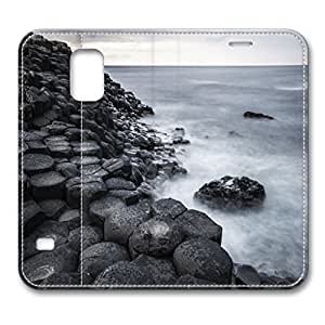 Samsung S5 case,New Leather Galaxy S5 case Design for Samsung Galaxy s5 With Giant Causeway Ireland