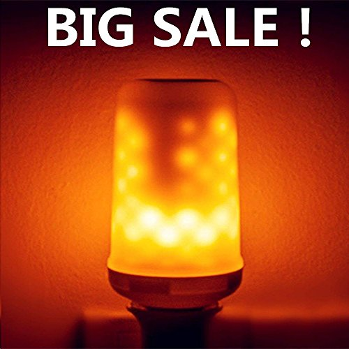 Big Sale!ASIGN LED Flame Effect Light Bulb, E26