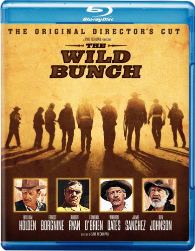 Blu-ray : The Wild Bunch (Director's Cut / Edition, Widescreen, , Dubbed, Dolby)