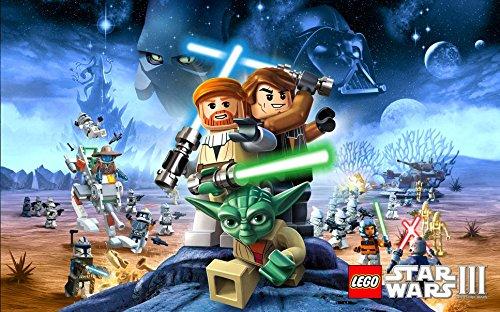 001 Lego Star Wars 38x24 inch Silk Poster Aka Wallpaper Wall Decor By NeuHorris