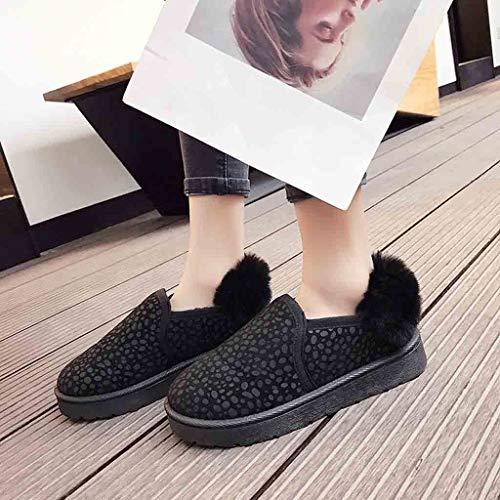 114b05c9fa73e3 talon Neige D'hiver Kaiki chaussures Noir Vêtements Pour De Peluche 35 43  En Femme Mode ...
