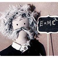 Albert Einstein hecho a mano / Albert Einstein handmade