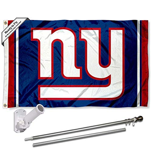 WinCraft New York Giants Flag Pole and Bracket Kit ()