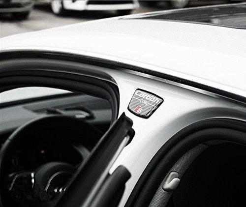 AUTO-P carbon fiber sticker B column door decoration body sticker for Audi A1 A3 A4 A5 A6 A7 A8 Q3 Q5 Q7 sline s line sticker