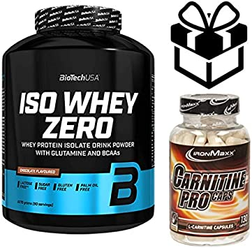 biotech whey zero lactose free 2,27kg chocolate + carnitine ...