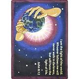 Faith Based I Am The Light Kids Rug Rug Size: 7'8'' x 10'9''