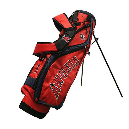 Team Golf 96227 Los Angeles Angels MLB Nassau Golf Stand Bag by Team Golf (Image #1)