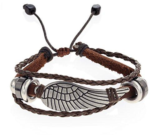 Leather Wristband Vintage Adjustable Bracelet