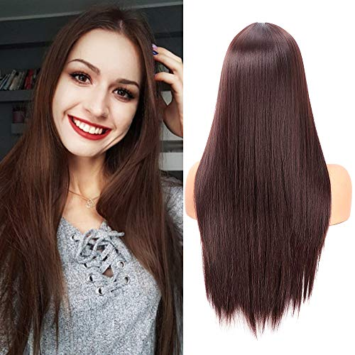 Straight Ladies Natural Hairline Synthetic product image