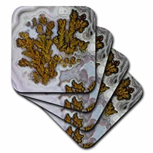 Danita Delimont - Rocks - Plume Agate, Quartzsite - set of 8 Coasters - Soft (cst_229634_2)